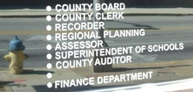 Kankakee County administrative department list