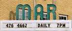 The Mar theatre marquee
