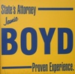 Jamie Boyd sign